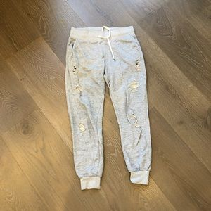 Forever21 distressed joggers